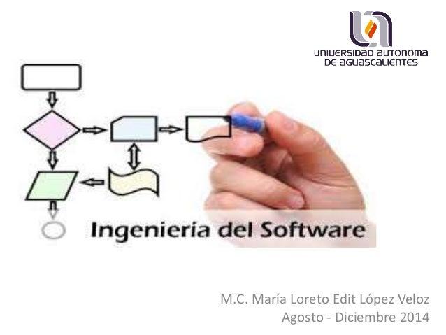 M.C. María Loreto Edit López Veloz Agosto - Diciembre 2014