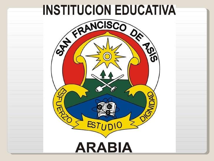 Presentacion institucional san francisco de asís