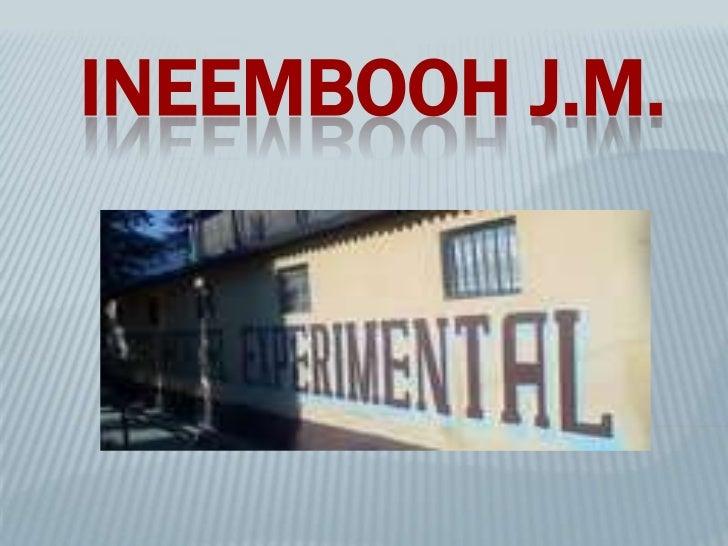 INEEMBOOH J.M.