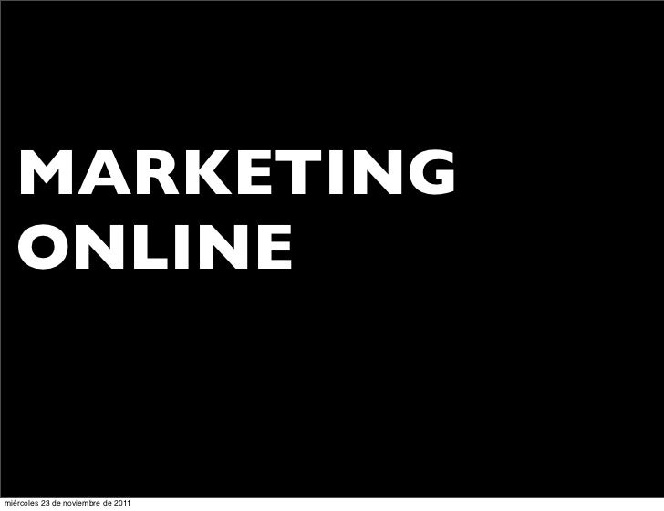 Marketing Online en Turismo