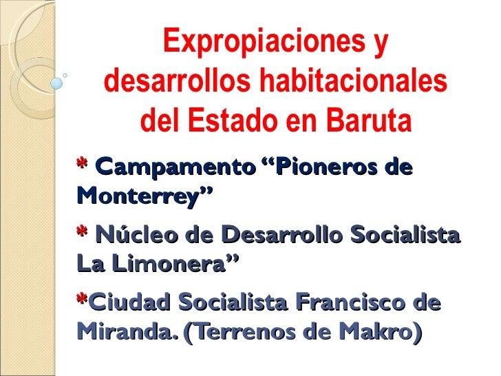 """*  Campamento """"Pioneros de Monterrey"""" *  Núcleo de Desarrollo Socialista La Limonera"""" * Ciudad Socialista Francisco de Mir..."""