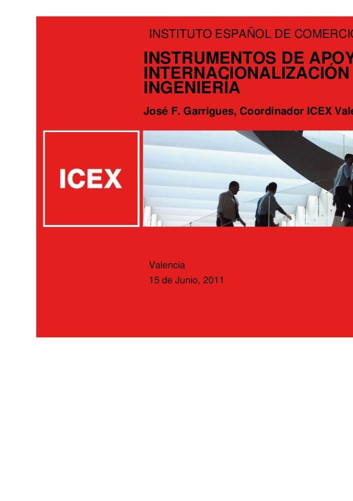 Presentacion ICEX