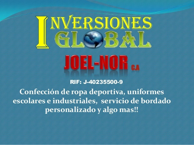 Inversiones Global JOEL-NOR c.a