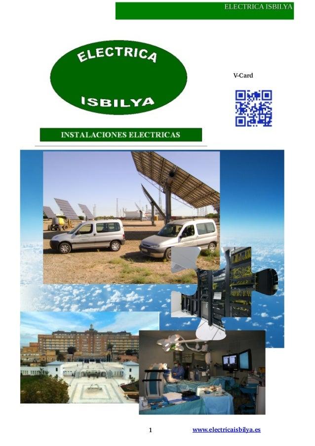 1 www.electricaisbilya.esVCard
