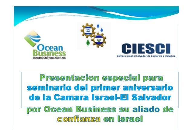 Firma consultora establecida en Israel enfocada en negocios con nuevas tecnologías y proyectos de desarrollo sostenible. r...