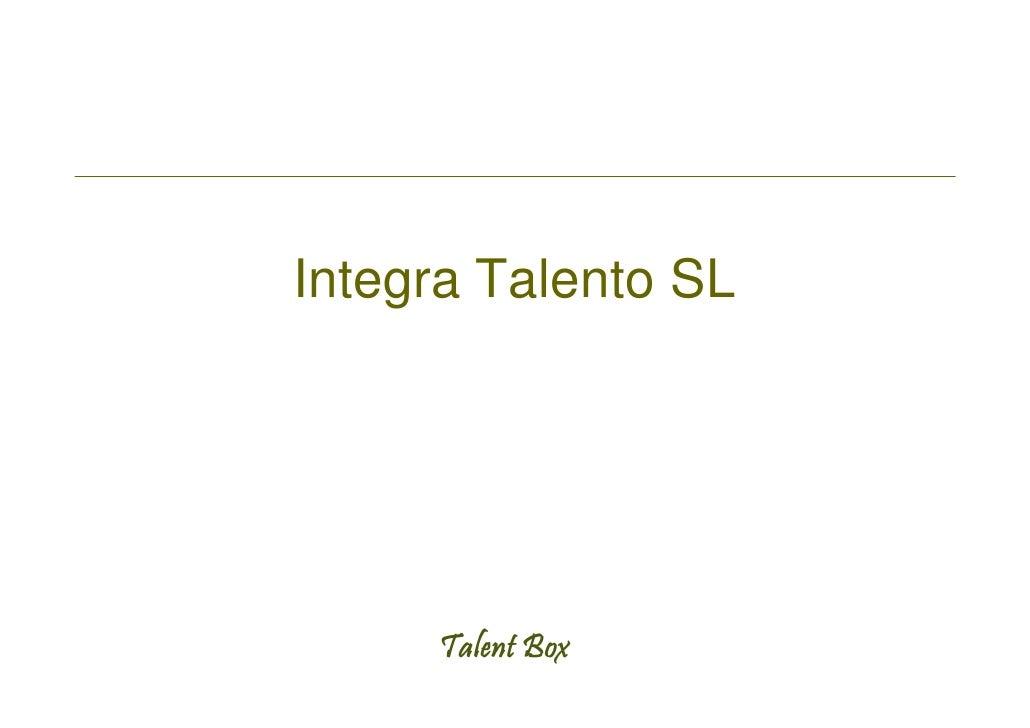 Integra Talento SL