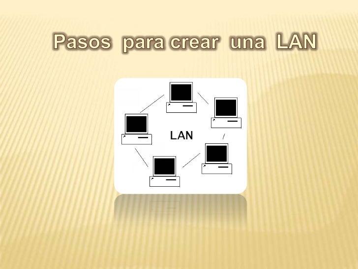 Si posee varios equipos, puede ser muy útil conectarlos entre sí para crearuna red de área local (LAN).Configurar una red ...