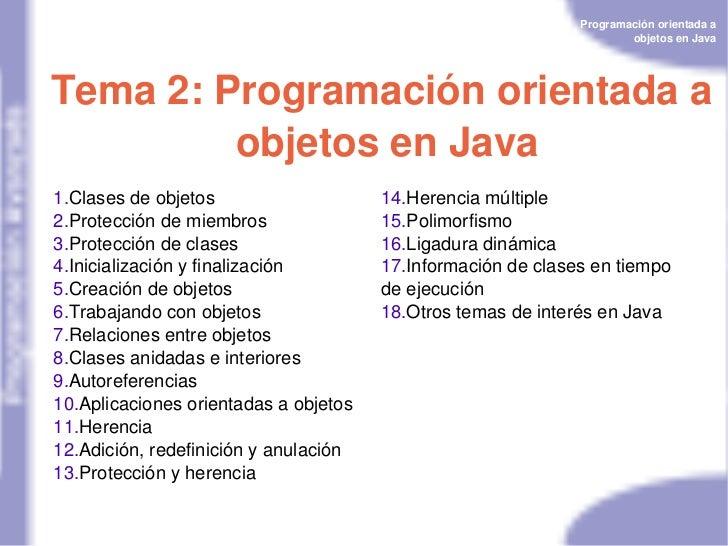 Programaciónorientadaa                                                                      objetosenJavaTema2:Prog...