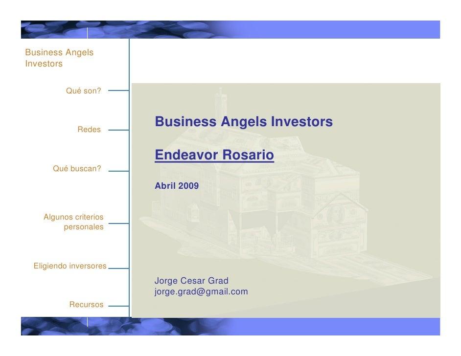 Business Angels Investors