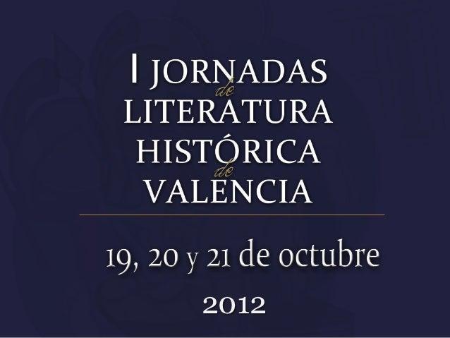 Jornadas Históricas de Valencia 2012