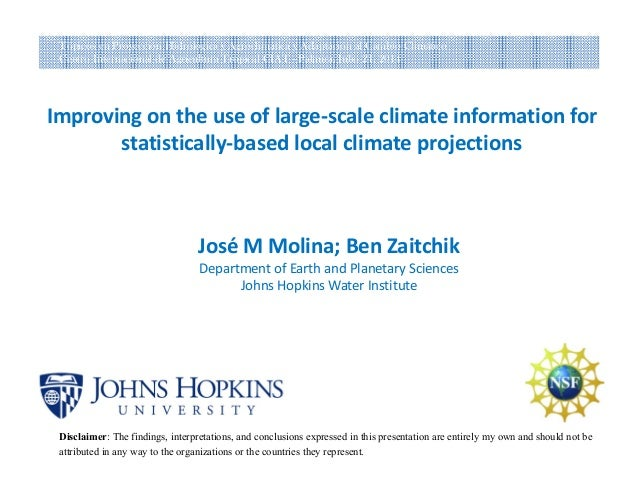 Improving on the use of large‐scale climate information for statistically‐based local climate projections