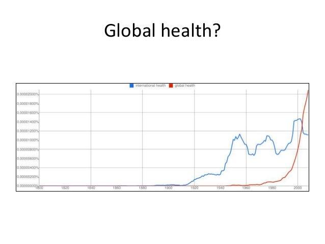 Global health?