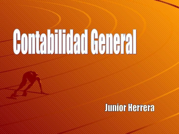 Contabilidad General Junior Herrera