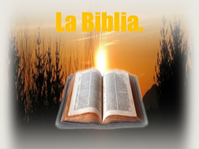 Presentaci u00f3n la Biblia