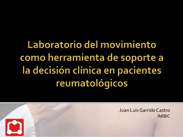 Juan Luis Garrido Castro                  IMIBIC