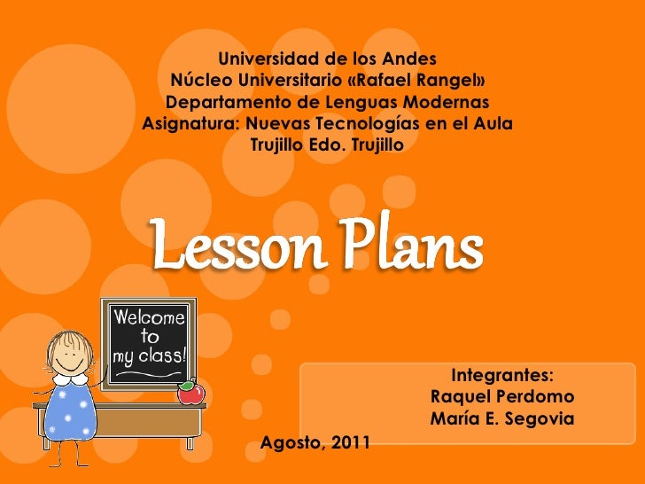Lesson Plans and Web Sites Resources