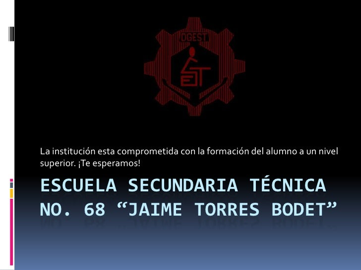 Tec 68 Jaime Torres Bodet