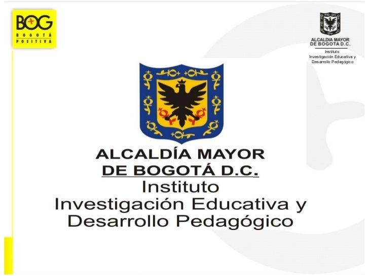Instituto  Investigación Educativa y Desarrollo Pedagógico
