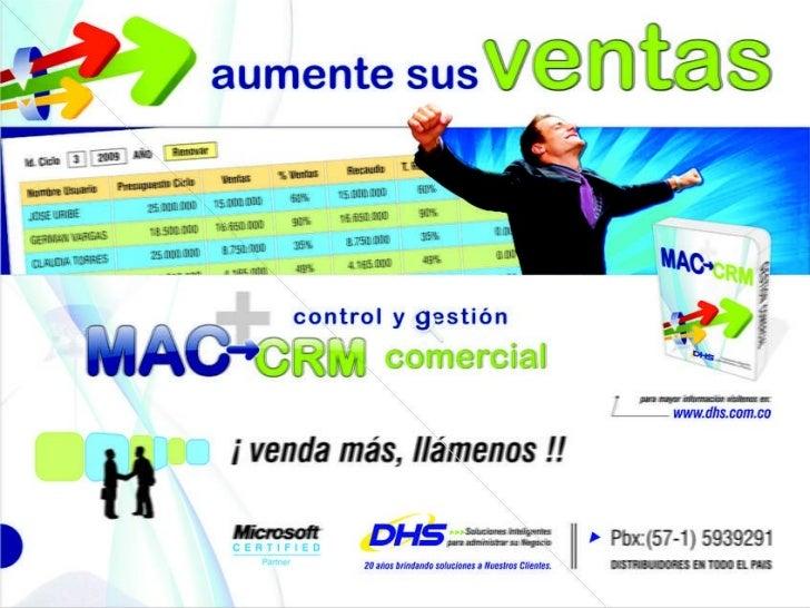 Presentacion MAC CRM