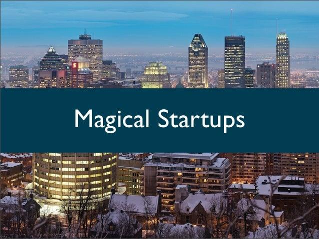 Magical Startups: Conectando startups con desafíos de grandes empresas