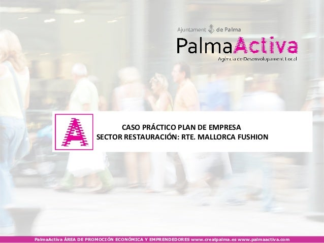 PalmaActiva - Com fer un pla d'empresa? (restauració)