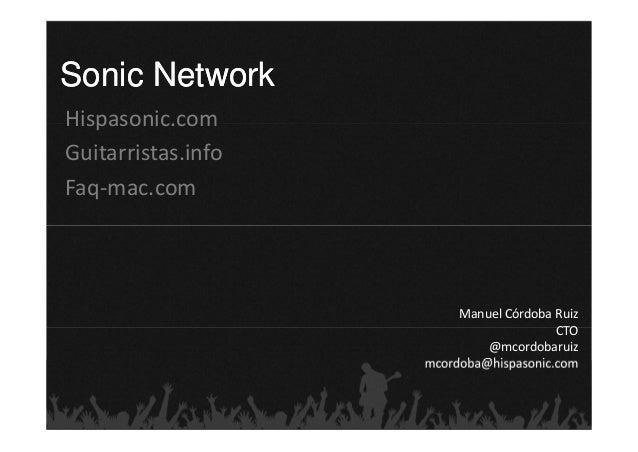 Sonic NetworkHispasonic.comGuitarristas.infoFaq‐mac.com                         ManuelCórdobaRuiz                       ...
