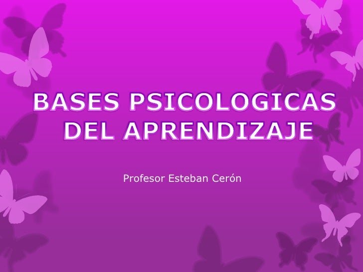 Profesor Esteban Cerón