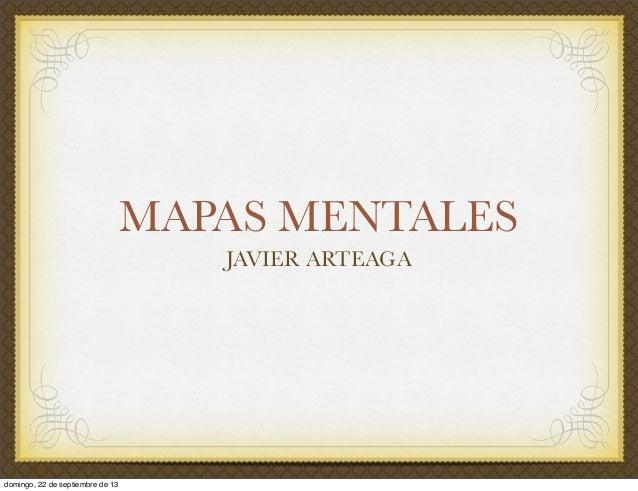 Presentación Mapas Mentales
