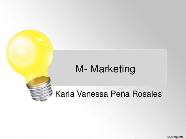 M- Marketing Karla Vanessa Peña Rosales