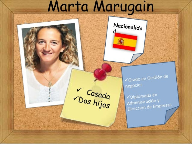 Presentacion marta marugain slide share