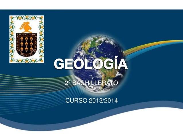 2º BACHILLERATO CURSO 2013/2014
