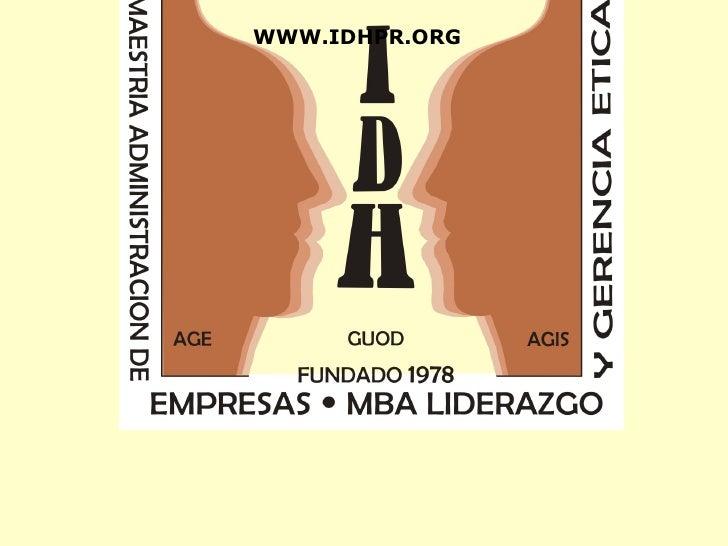 WWW.IDHPR.ORG