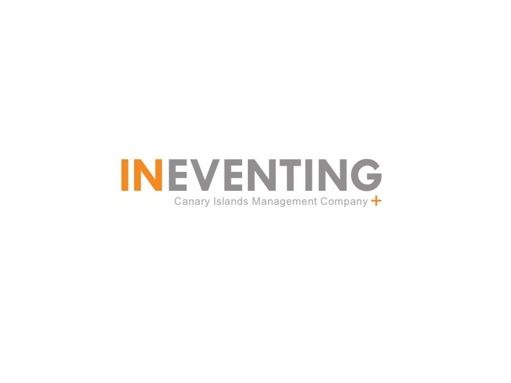 INEVENTING+  Canary Islands Management Company