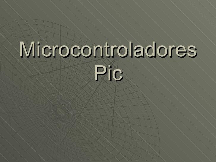 FAMILIA MICROCONTROLADORES