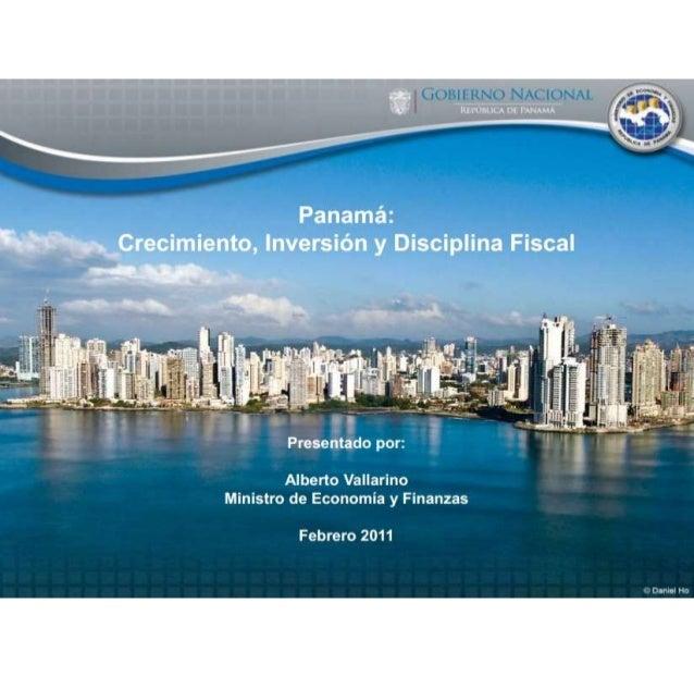 1. Desempeño fiscal 2010 2. Desempeño macroeconómico 2010 3. Perspectivas 2011 -2014 4. La sostenibilidad del crecimiento ...