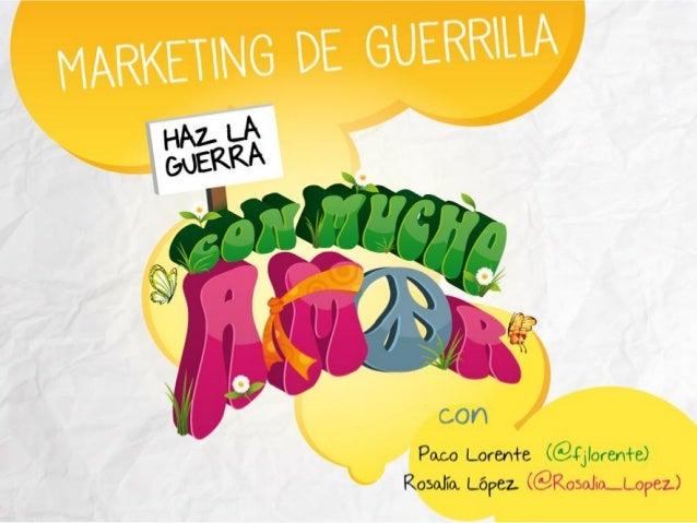 Jornada Marketing de Guerrilla CEEI Elche. Junio 13
