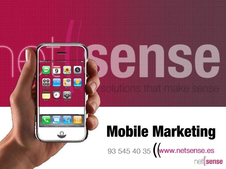 Presentacion mobilemarketing
