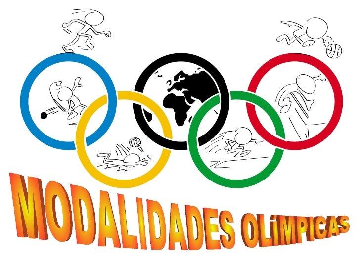Presentacion Modalidades Olimpicas