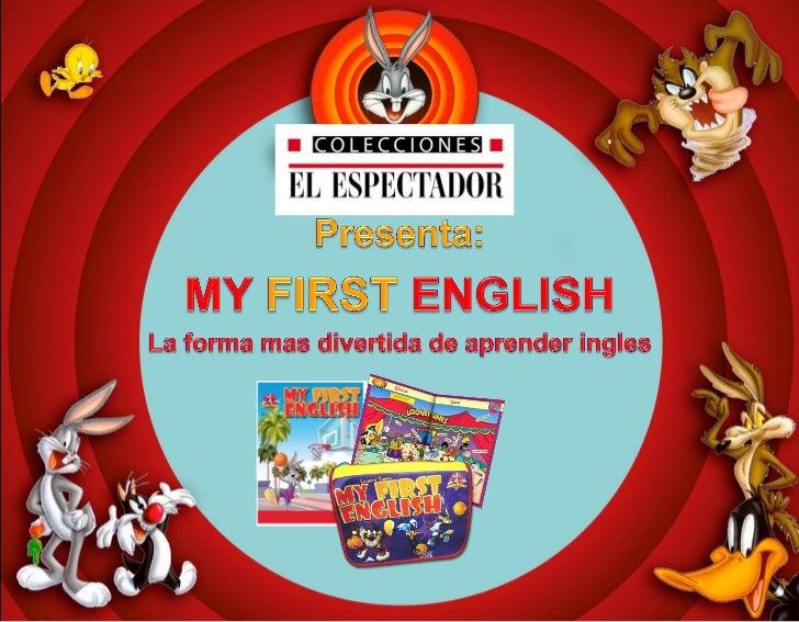 Presentacion my first english