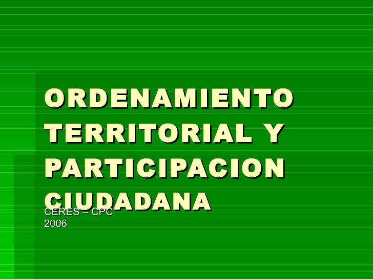 Presentacion nelson en cochabamba06 taller nacional