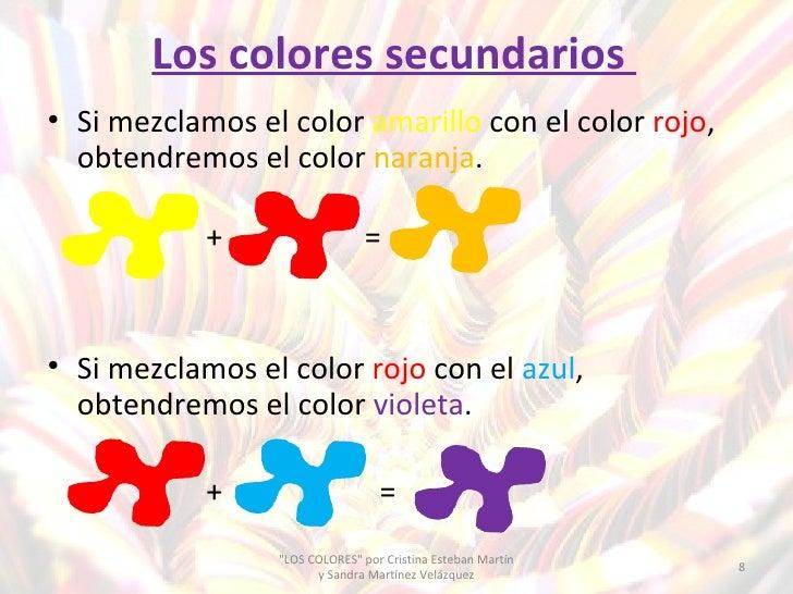 Los colores primarios secundarios fr os y c lidos - Como se consigue el color naranja ...