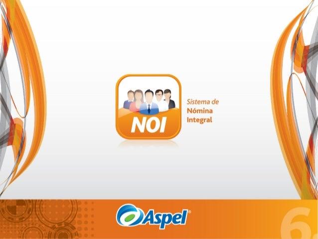 Aspel NOI | Sistema de Nómina