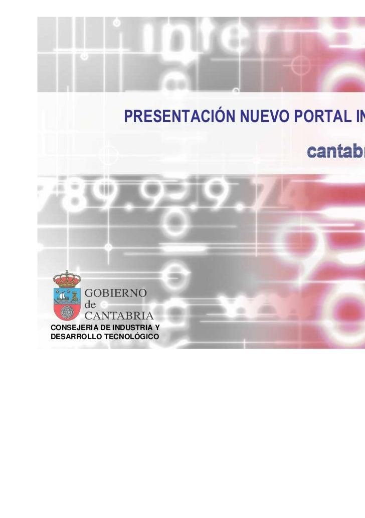 Nuevo www.cantabria.es