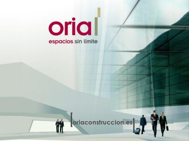 oriaconstruccion.es