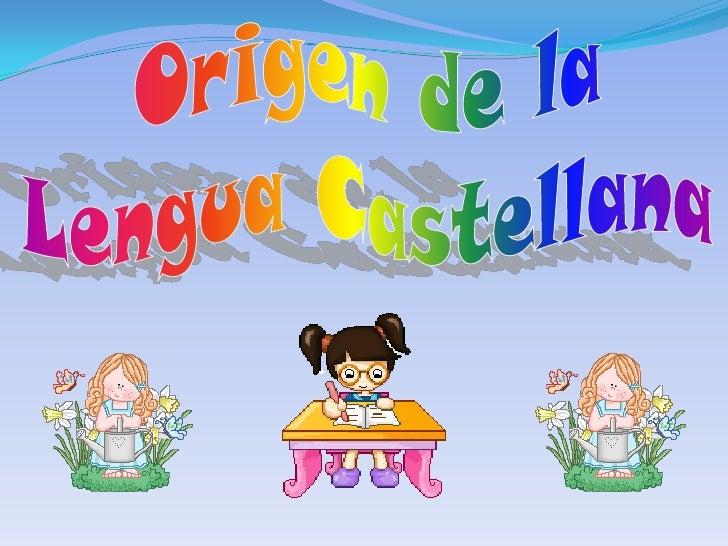 elementos de la lengua castellana: