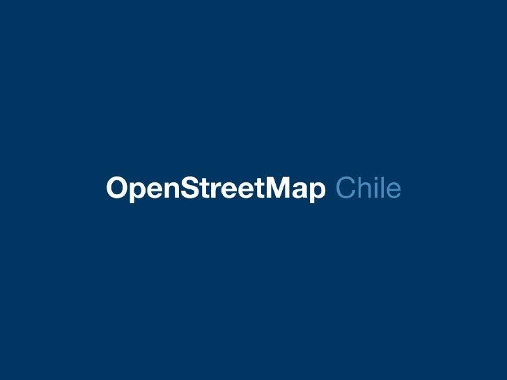 OpenStreetMap en FUDCon 2010 (Santiago, Chile)