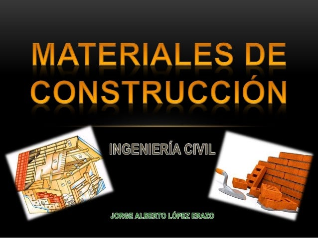 Materiales de construcci n para ingenier a civil - Materiales de construccion toledo ...