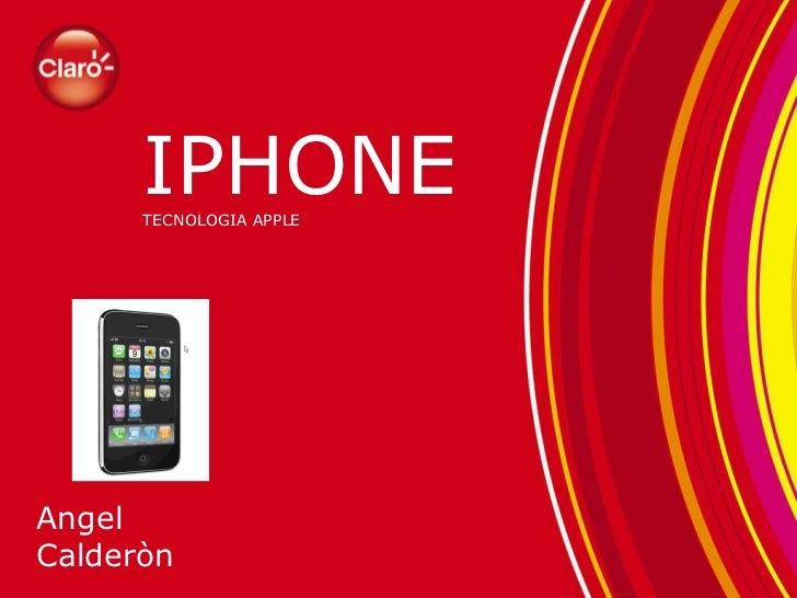 Presentacion para iphone3g s