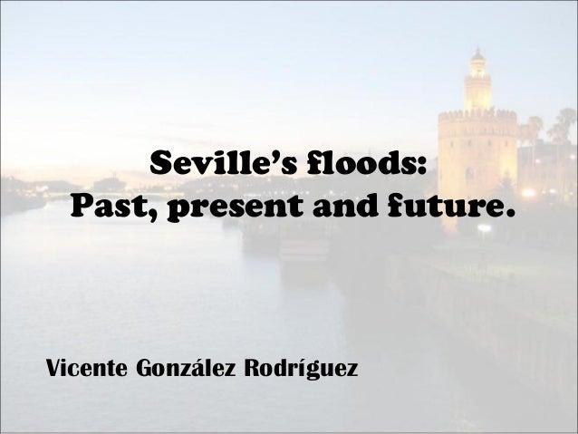 Seville's floods (Vicente González)