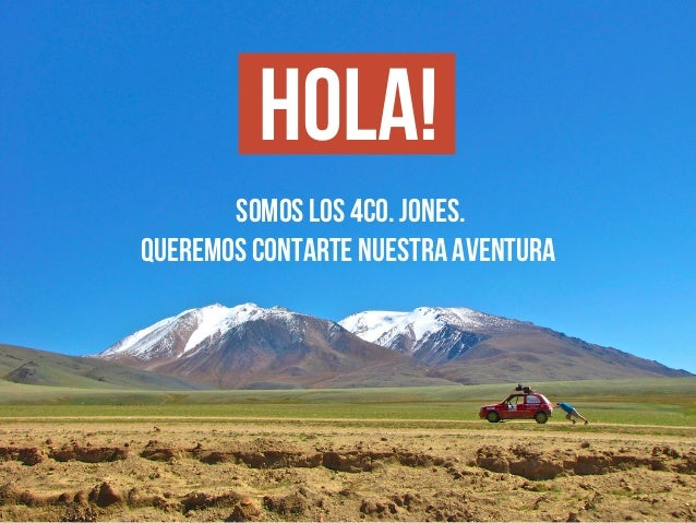 4Co.Jones - Hazte Sponsor - Mongol Rally 2014
